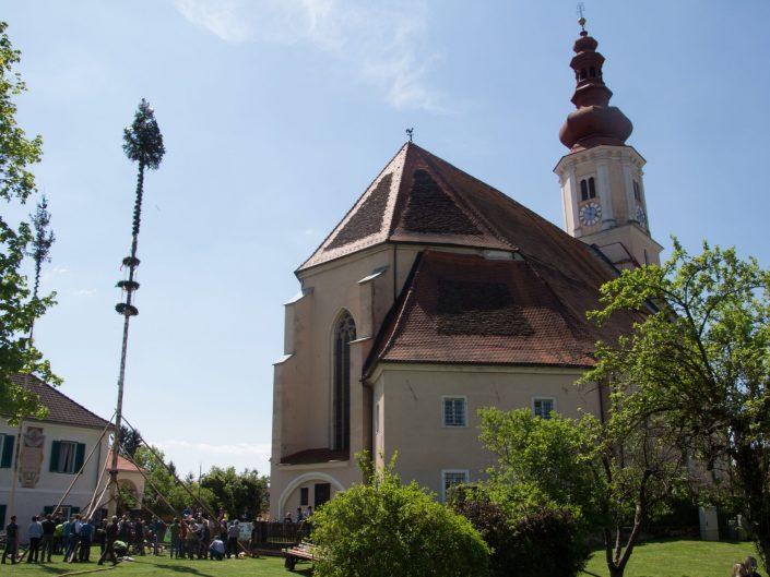 01. Mai 2019 – Maibaum aufstellen vom Bauernbund und JVP Fernitz-Mellach